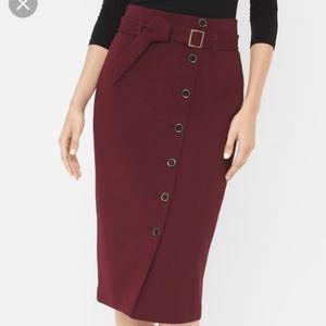 White House Black Market High Waist Pencil Skirt